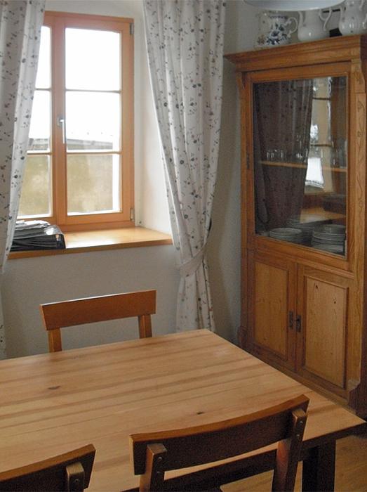 Küche der kleinen Fewo bis 3 Personen in Meißen