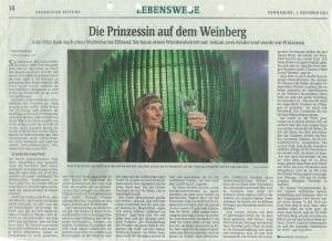 Artikel Sächsische Zeitung 1.10.2011