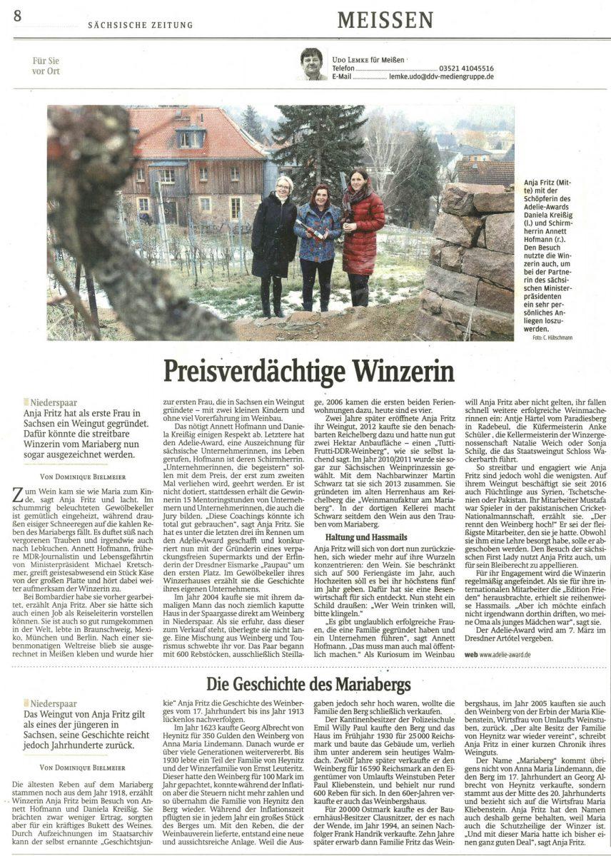 Sächsische Zeitung 2-2019