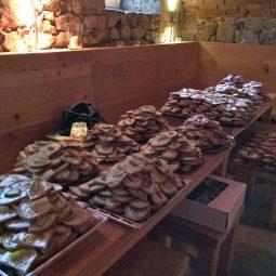 Vorbereitungen zum Weinlauf