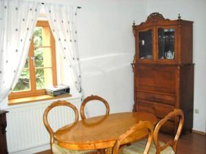 Wohnraum Ferienwohnung Meißen mit ca 45 m²
